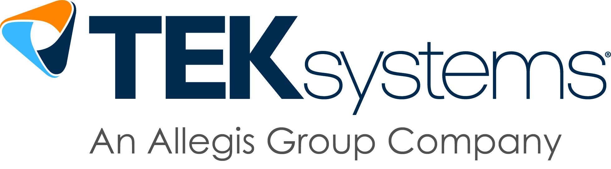 TEKsystems with Own Change tagline logo